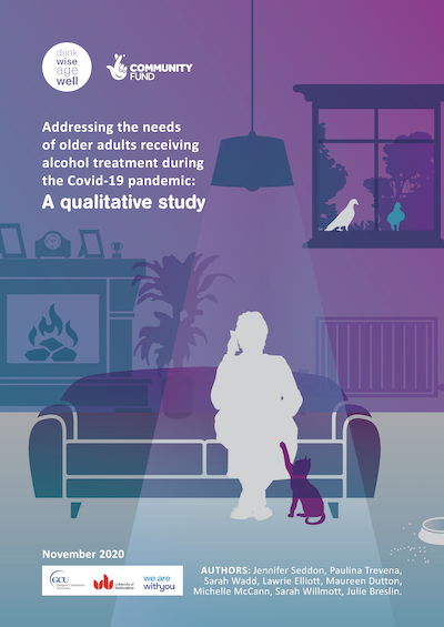 Addressing the needs of older adults receiving alcohol treatment during the Covid-19 pandemic: A qualitative study