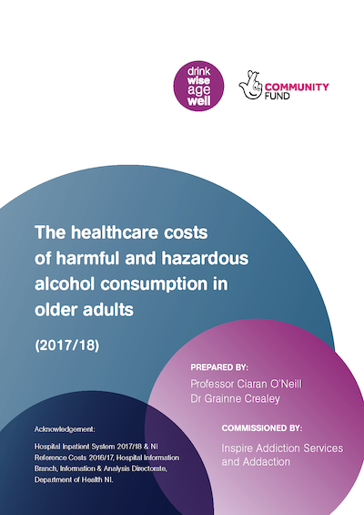 The healthcare costs of harmful and hazardous alcohol consumption in older adults in Northern Ireland